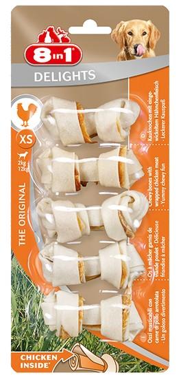 8in1 Delights Bones XS 5 sztuk