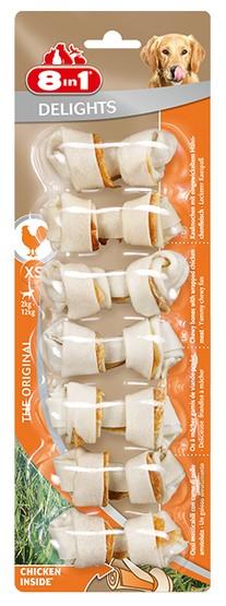 8in1 Delights Bones XS 7 sztuk