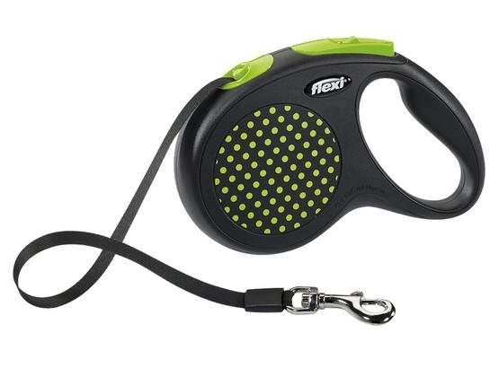 Flexi Smycz Design taśma M 5m zielony