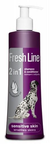 Fresh Line 2w1 Wrażliwa Skóra - Szampon z odżywką 220ml