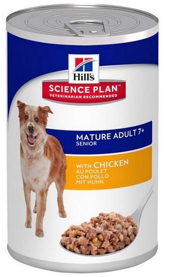 Hill's Active Longevity Mature Adult 7+ Medium Chicken puszka 370g