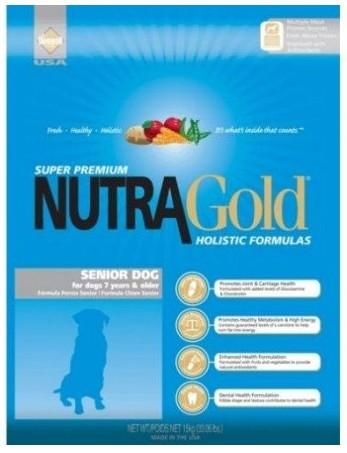 Nutra Gold Holistic Senior Dog 3kg