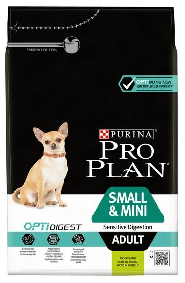 Purina Pro Plan Adult Small & Mini OptiDigest Sensitive Digestion Lamb 7kg