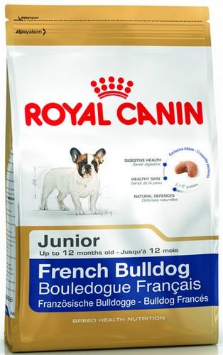 Royal Canin French Bulldog Junior karma sucha dla szczeniąt do 12 miesiąca