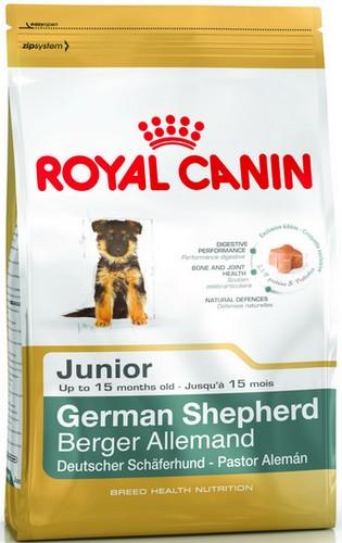 Royal Canin German Shepherd Junior karma sucha dla szczeniąt do 15 miesiąca