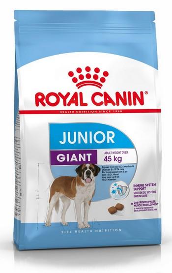 Royal Canin Giant Junior karma sucha dla szczeniąt  od 8 do 18/24 miesiąca życia
