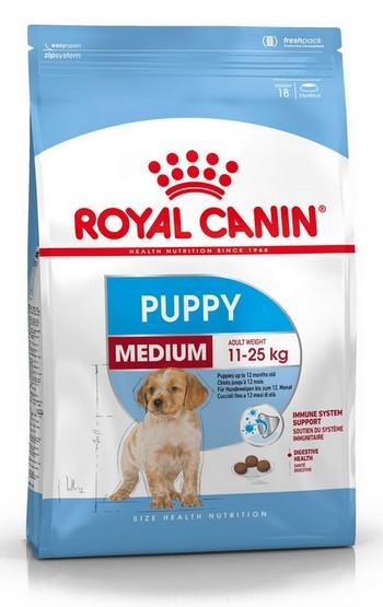 Royal Canin Medium Puppy karma sucha dla szczeniąt