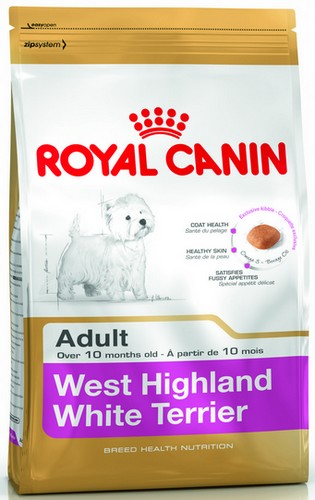 Royal Canin West Highland White Terrier Adult karma sucha dla psów dorosłych rasy west highland white terrier 0