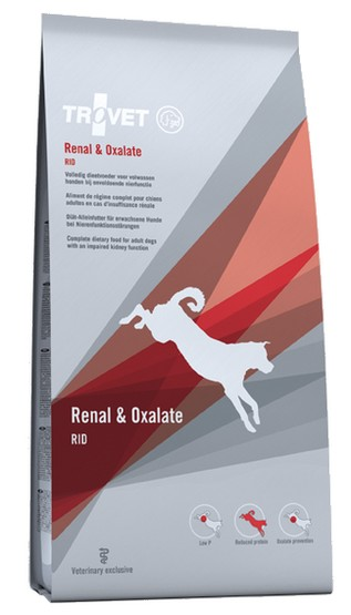 Trovet RID Renal & Oxalate dla psa 12